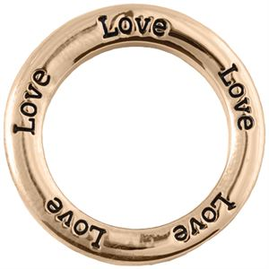 Picture of 'Love' Large Rose Gold Frame